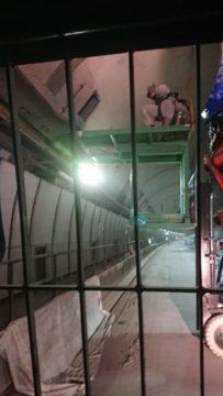 トンネル工事12日目