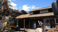 南濃町 木造解体